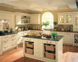 country kitchen furniture table shiny black granite countertops white wooden kitchen