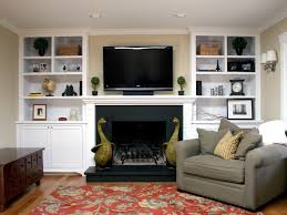 living room built in bookcase with black lacquer trim amazing