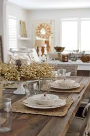 how to decorate a dining room table early fall dining room table settings dining and autumn