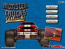 monster trucks attack hacked cheats hacked games