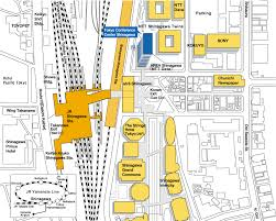 shinagawa station map the 3rd congress of society of cardiovascular imaging
