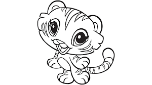 small coloring pages tigers coloring