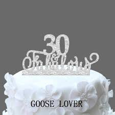 30 cake topper 30th and fabulous cake topper 30th birthday party decoration