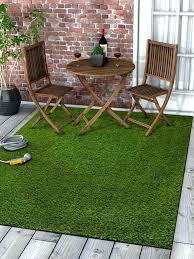 Outdoor Turf Rug New Outdoor Turf Rug Lawn Artificial Grass Rug 3 X 5 X 5