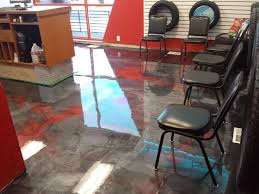 advanced epoxy flooring in pontiac michigan warehouse tire