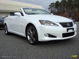 lexus convertible 2011 starfire white pearl lexus is 250c convertible 58364444