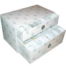 with this light bulb storage box you can easily organize all of
