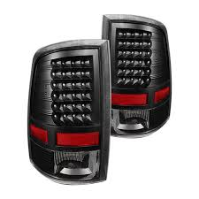 2014 ram 1500 tail lights spyder alt jh dr09 led bk black led tail lights