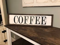 Coffee Wall Decor For Kitchen Funny Accessories Made Of Paper Material In Simple Style For