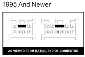 1995 nissan pathfinder radio wiring diagram 1995 wiring diagrams