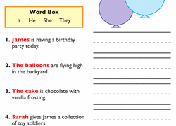 pronouns worksheets education com