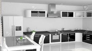 carrelage cuisine damier noir et blanc impressionnant cuisine noir et blanc galerie avec cuisine noir et