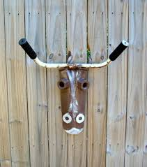 Garden Metal Decor Bull Or Cow Iron Art From Found U0026 Upcycled Items Home Or Garden