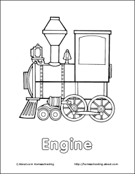 Steam Locomotive Coloring Pages Homeschooling Trains Coloring Book by Steam Locomotive Coloring Pages