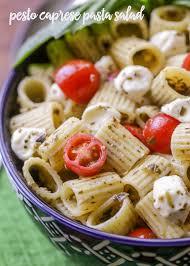 pasta salda pesto pasta salad recipe