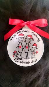 best 25 personalized family christmas ornaments ideas on