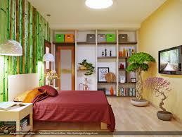 bamboo wall treatment interior design ideas