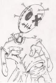 voodoo doll tattoo by skatevil on deviantart