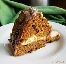 cooking with carlee cheesecake stuffed pumpkin bundt cake