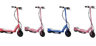 razor e100 e125 e150 e175 electric scooter review