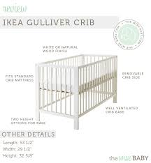 Ikea Crib Mattress Review Ikea Gulliver Crib Review How It S Holding Up The Wise Baby