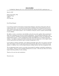 Cover Letter For It Company It Director Cover Letter Gallery Cover Letter Ideas