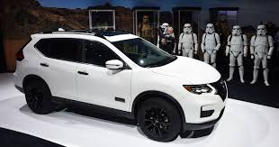 nissan rogue midnight edition nissan create u0027rogue one u0027 suv for star wars fans
