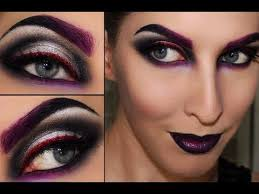maleificent witch sorceress black widow makeup you