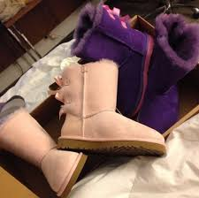 light purple bailey bow uggs shoes ugg boots bailey bow pastel pastel pink purple shoes