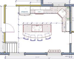 plans for kitchen island 18 best kitchen floor plans images on kitchen floor