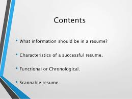 How To Write A Successful Resume How To Write An Effective Resume