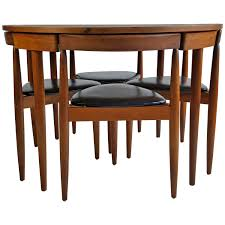 mid century modern dining room furniture mid century modern dining table four chairs hans olsen frem rojle