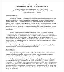 sample management report 14 documents in pdf word