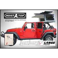 jeep parts buy lange originals hoist a top hardtop removal system