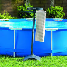 Backyard Pool Superstore Coupon by Amazon Com Intex Towel Rack With Cup Holder For Above Ground