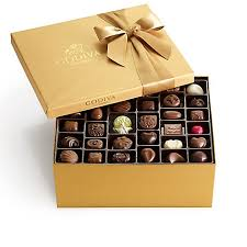 assorted gift boxes assorted chocolate gold gift box 140 pc classic ribbon godiva