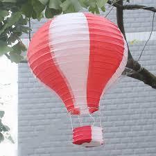 How To Make Paper Air Balloon Lantern - 12 inch air balloon paper lantern birthday wedding