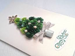 handmade christmas card quilling christmas quilling