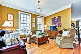 5 ways to update a living room on a budget mustard yellow walls