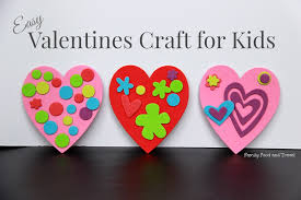 valentines kids 20 s day crafts for kids of all ages the inspired home