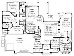 House Plans Mediterranean Mediterranean Style House Plan 4 Beds 3 00 Baths 2908 Sq Ft Plan