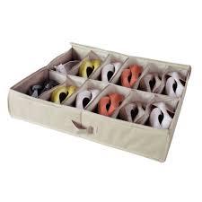 aliexpress com buy storagemaniac 12 pair underbed shoe organizer