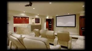 home theatre design in nice comfortable theater seating ideas