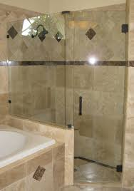 Shower Wall Ideas by Bathroom Cool Semi Frameless Shower Doors With Tub Slider And