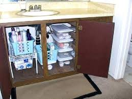 bathroom sink organizer ideas under bathroom sink storage shaker style bathroom under sink unit