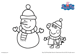 peppa pig coloring pages within pdf eson me