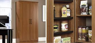 kitchen pantry wood storage cabinets clever cabinet kitchen organization with a freestanding pantry