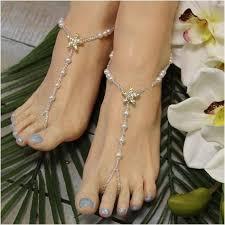 starfish barefoot sandals starfish barefoot sandals rhinestone starfish wedding foot