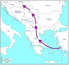 Maps Com The Aftermath Of An Exodus The Balkans U0027 Old Smuggling Routes And