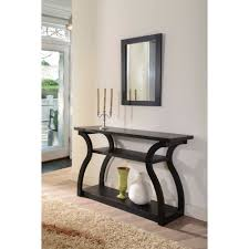 black entry hall table console table antique black console table furniture ideas living